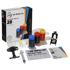 LD Refill Kit for HP 28 Color Ink