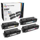 Compatible Canon 046H Set of 4 High Yield Toner Cartridges