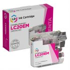 Compatible Brother LC20EM Super HY Magenta Ink Cartridge